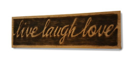 Live Laugh Love Wall Hanging - $50.00