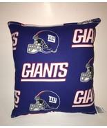 Giants Pillow NFL NY Giants Pillow New York Giants Pillow Handmade in US... - $9.99