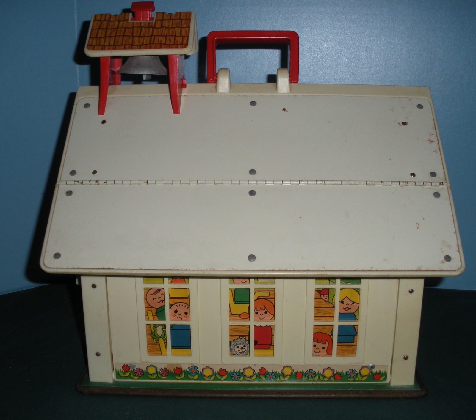Vintage Fisher Price Play Family #923 School 99.9% Complete/EXC--EXC++ (K)