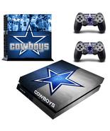 PS4 Console Skin NFL Dallas Cowboys Vinyl Decal... - $12.00