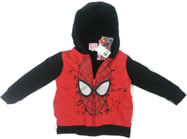 BOY'S NWT Amazing Spiderman Insulated Zip-Up Hoodie - Multiple Sizes - M... - $11.16