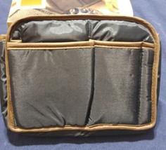 Vtg 1988 Totes 100% Nylon Purse to Purse Black Handbag Organizer Liner NIB NOS image 4