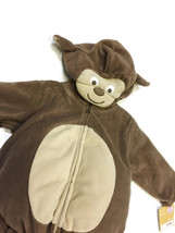 CARTER'S BABY TODDLER 2 PIECE PUFFY FLEECE MONKEY HALLOWEEN COSTUME 6-9M... - $10.04