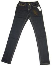 Rocawear Women's Dark Blue Skinny Jeans w/Multicolor Pocket - SEXY NWT!  AG-141 - $27.83