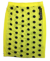 MODA NWT Women's Yellow Polka Dotted Skirt - SI... - $17.30