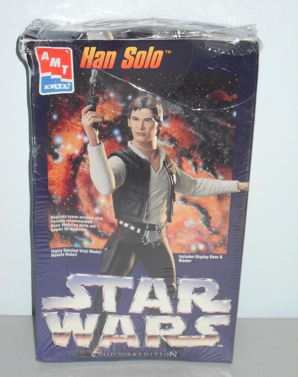1995 Star Wars Han Solo Vinyl Model Kit AMT ERTL Sealed