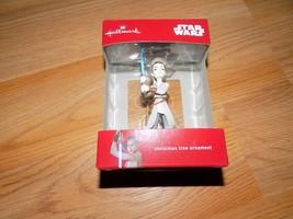 Hallmark Disney Star Wars The Force Awakens Rey 2016 Christmas Holiday O... - $17.00
