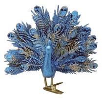 "Christmas Peacock Clip, 4.7"" seasonal - $34.64"