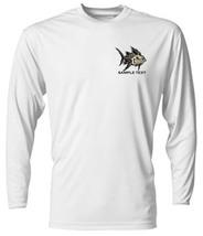 6 Personalized Custom Front & Back Printed Dri Fit Longsleeve Fishing Sun Shirt image 4