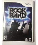 Rock Band (Nintendo Wii, 2008) U1 - $15.84