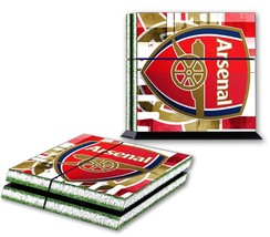 ARSENAL FC PS4 Skin Vinyl Decal PlayStation 4 Console Designer Sticker Logo 097 - $14.99