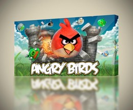 Angry Birds CANVAS PRINT Home Wall Decor Giclee Art Movie CA257 - $14.99+