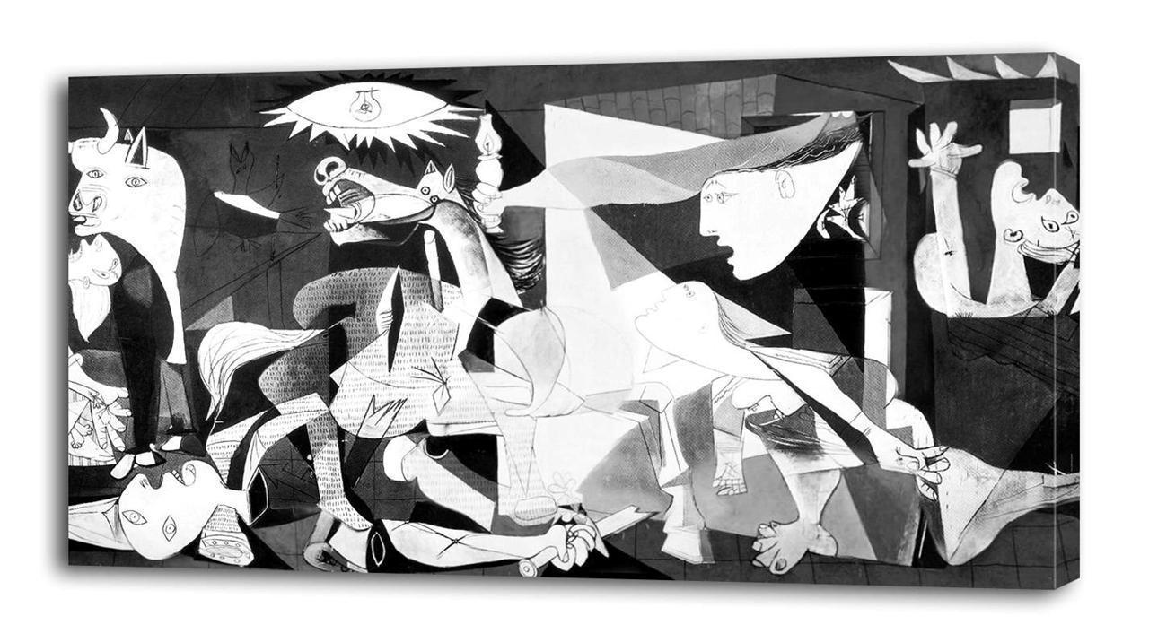 PABLO PICASSO Guernica CANVAS PRINT Home Wall Decor Art Painting Giclee for sale  USA