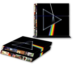 PINK FLOYD PS4 Skin Vinyl Decal PlayStation 4 Dark Side Of The Moon Sticker 053 - $14.99