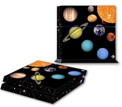 SOLAR SYSTEM PS4 Skin Vinyl Decal PlayStation 4 Console Sticker Space 194 - $14.99