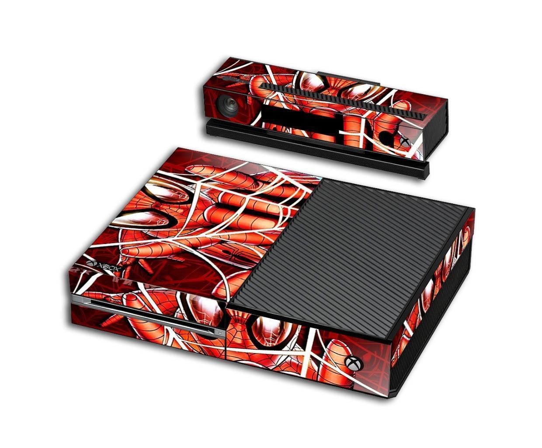SPIDERMAN XBOX ONE Skin Vinyl Decal Console Designer Sticker 049 for sale  USA