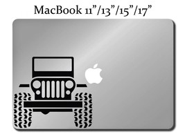 SUV Decal LAPTOP / MACBOOK Mac Pro Air Sticker ... - $7.99