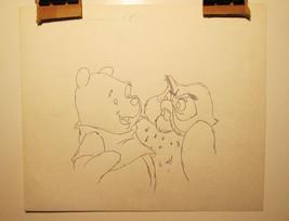 Lot of Three Vintage Disney Limited Edition Production Art Winnie Mickey... - $54.32