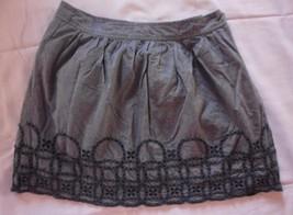 Gap Womens Blue Eyelet Skirt Size 2 - $6.81