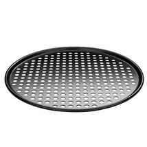 """12"""" Professional Round Pizza Crisper Oven Baking Tray Nonstick Mesh Scre... - £14.66 GBP"""