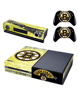 Xbox One Console Skin Boston Bruins NHL Vinyl S... - $12.00