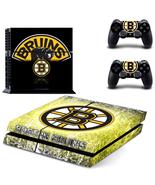 PS4 Console Skin NHL Boston Bruins Vinyl Decals... - $12.00