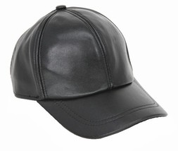 New Men's Women's 100% Genuine Leather Baseball Cap / Golf Hats - $15.85