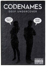 Card Game Code Names Deep Undercover For Ages 18 and Up 4 to 8 Player St... - $16.19