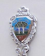 Collector Souvenir Spoon Australia Twin Ghost Gums Heritage Trees Defunct - $12.99