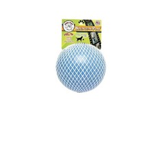 Jolly Pets Bounce Play Ball for Dog toy 8in Blueberry Floats Non toxic s... - $23.33