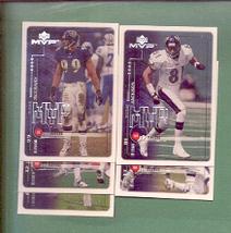 1999 Upper Deck MVP Baltimore Ravens Football Set - $1.99