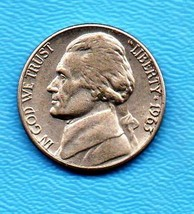 1963 D Jefferson Nickel - Light Wear Very Good condition - $0.05