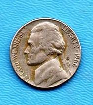 1966 Jefferson Nickel - Light Wear -Some Toning - $0.05