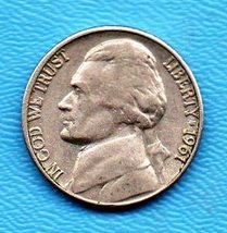 1961 D Jefferson Nickel - Light Wear - Strong Features - $1.55