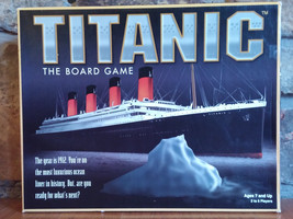 Titanic The Board Game 1998 Universal Games Com... - $34.64