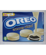NEW Nabisco Oreo White Chocolate Fudge Covered Creme Cookies  - $11.99