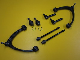 Upper Control Arm Lower Ball Joint Inner Outer Tie Rod 8 Piece Kit Yukon Quality - $199.16