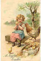 A Joyful Easter To You Paul Finkenrath of Berlin Post Card - $7.00