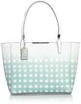 Coach Madison East/West Tote - White/Duck Egg - $453.42