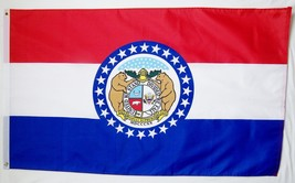State of Missouri Flag 3' X 5' Indoor Outdoor State Banner - $9.95