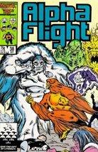 Alpha Flight (Issue #38) [Comic] Bill Mantlo and David Ross - $2.70