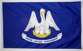 State of Louisiana Flag 3' X 5' Indoor Outdoor State Banner - $9.95