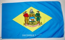 State of Delaware Flag 3' X 5' Indoor Outdoor State Banner - $9.95