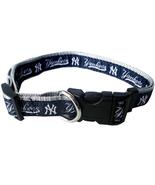 MLB NY Yankees Adjustable Nylon Dog Collar (Lar... - $10.25