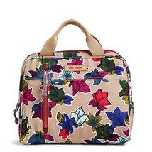 Vera Bradley Water-Repellent Lighten Up Lunch Cooler Bag,Falling Flowers Neutral image 3