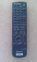 8E16 SONY RMT-D109A DVD REMOTE CONTROL, VERY GOOD CONDITION - $16.77