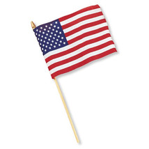 8 x 12 Cloth Flag United States/Case of 36 - $84.94
