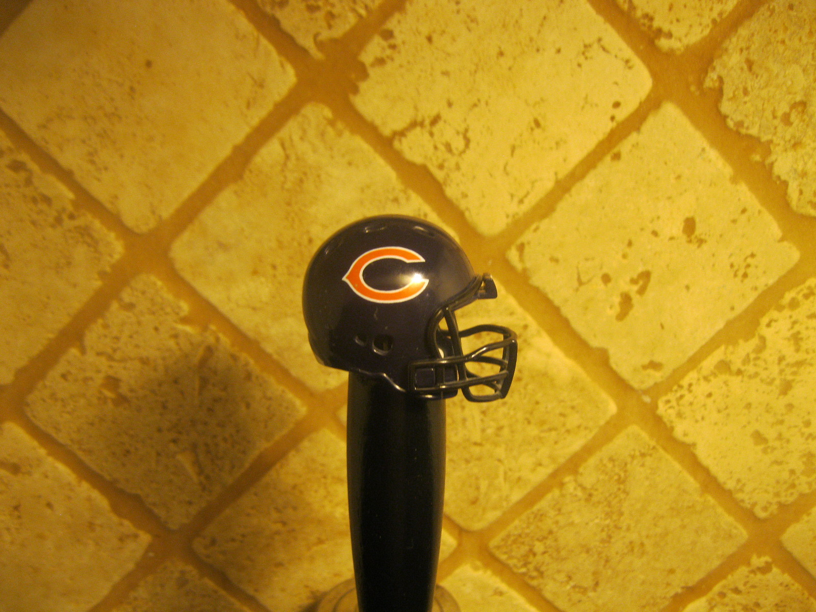 NFL Chicago Bears Kegerator Beer Tap Handle Football Helmet Team Bar Brew Sport - $31.63