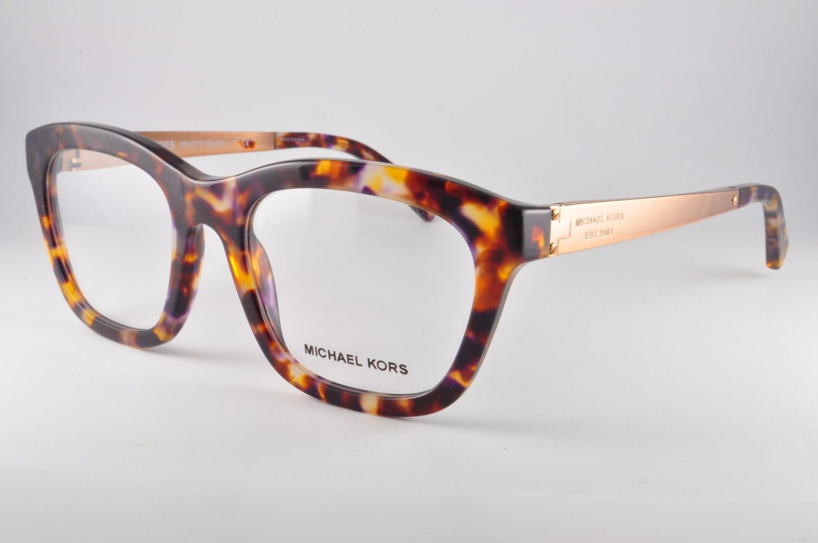 b0cd7550100 MICHAEL KORS EYEGLASSES MK4019 3031 52-19-135 BIG SUNSET CONFETTI OPTICAL  FRAME -  68.73