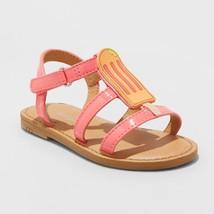 Toddler Girls' Eavan Popsicle Sandal - Cat & Jack Pink Orange - $18.00